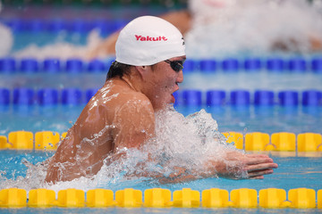 Takuro Fujii Swimming - 16th FINA World Championships: Day Sixteen