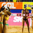 Talita Antunes FIVB Beach Volleyball Vitoria Open - Day 5