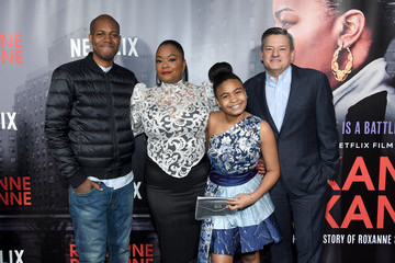 Taliyah Whitaker Special Screening Of The Netflix Film 'Roxanne Roxanne' At The SVA Theater In New York City