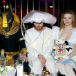 Talulah Riley Playboy and Hugh Hefner Host Annual Halloween Party at the Playboy Mansion
