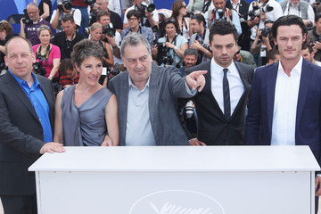 Stephen Frears Bill Camp Tamara Drew - Photocall:63rd Cannes Film Festival