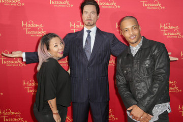 "Tameka Cottle Madame Tussauds Hollywood Bring Figures For ""Avengers: Age Of Ultron"" Premiere"