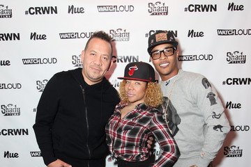 Tameka Cottle Elliott Wilson Hosts CRWN Event