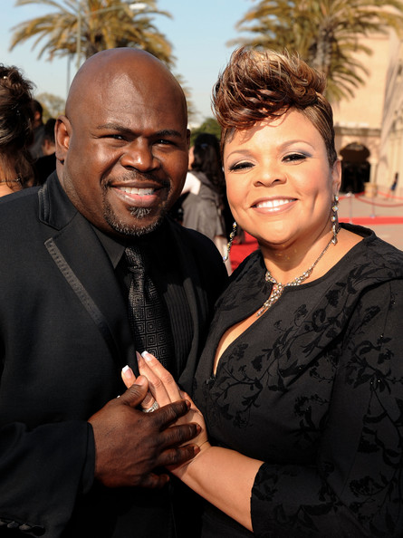 Tamela Mann Actors David Mann and Tamela Mann arrive at the 42nd NAACP