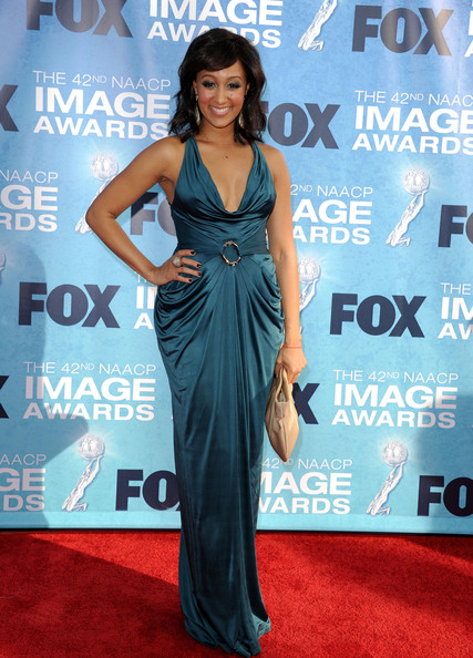 Tamera Mowry - 42nd NAACP Image Awards - Arrivals