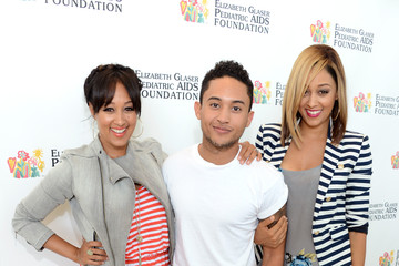 """Tamera Mowry-Housley Elizabeth Glaser Pediatric AIDS Foundation's 24th Annual """"A Time For Heroes"""" - Red Carpet"""