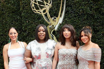 Tamera Mowry Loni Love 45th Annual Daytime Emmy Awards - Arrivals