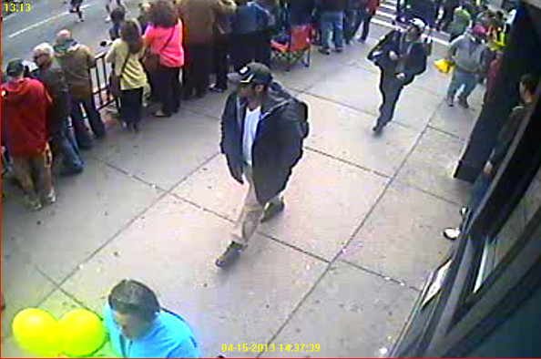 FBI Releases Images of Boston Bombing Suspects []