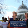 Tammy Baldwin Senate Democrats Calls on Senate Republicans to Bring the 'Seniors and Veterans Emergency Benefits Act' Up For Vote