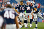 Tom Brady Tim Tebow Photos Photo