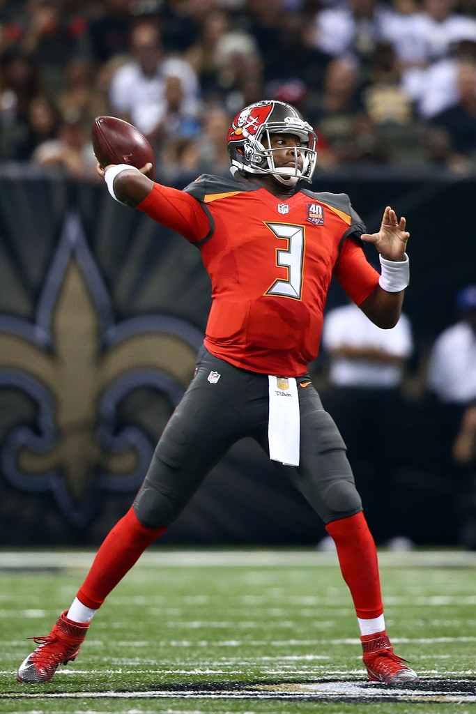 Jameis winston photos photos tampa bay buccaneers v new for Tampa bay mercedes benz