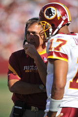 Jason Campbell Jim Zorn Tampa Bay Buccaneers v Washington Redskins