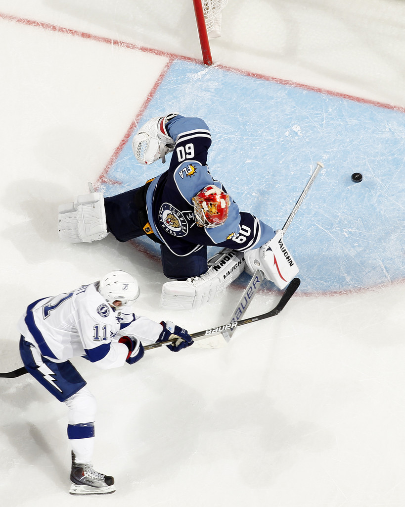 Jose Theodore Photos Photos Tampa Bay Lightning V Florida Panthers Zimbio