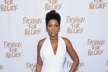 Tamron Hall Naomi Campbell's Fashion For Relief Charity Fashion Show - Arrivals