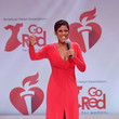 Tamron Hall The American Heart Association's Go Red For Women Red Dress Collection 2020 - Runway