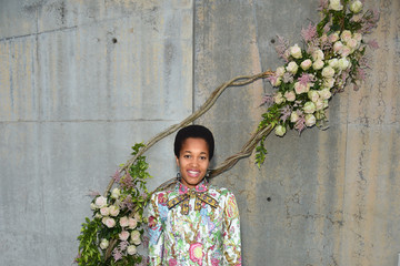 Tamu McPherson Gucci Bloom, Fragrance Launch Event at MoMA PS1 in New York