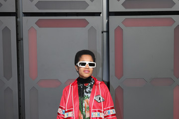 Tamu McPherson Gucci  - Arrivals - Milan Fashion Week Fall/Winter 2018/19