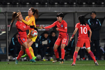 Tang Jia Li South Korea v China - EAFF E-1 Women's Football Championship