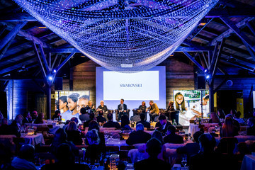 Tania Bryer Swarovski Nightcap and Dinner at the World Economic Forum in Davos