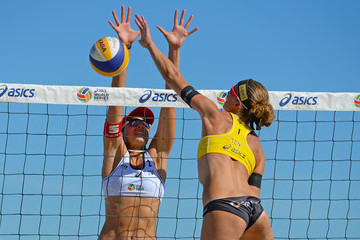 Tanja Huberli FIVB Long Beach Grand Slam: Day 2