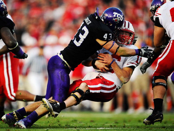 Tank Carder - Rose Bowl Game - Wisconsin v TCU