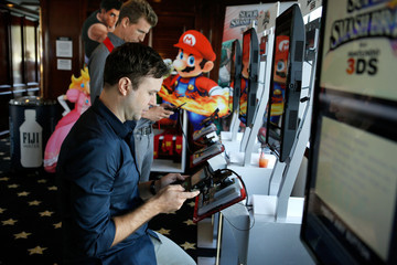Taran Killam Nintendo Lounge On The TV Guide Magazine Yacht At Comic-Con #TVGMYacht - Day 3