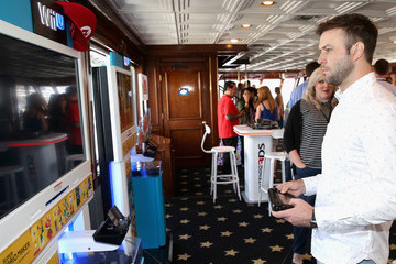 Taran Killam The Nintendo Lounge on the TV Guide Magazine Yacht at Comic-Con International 2015