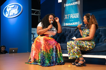 Tasha Cobbs SiriusXM's Praise Channel Broadcasts From Essence Festival In New Orleans
