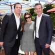 Tatiana Siegel The Hollywood Reporter And DIRECTV Celebrate '355' At The Grey Goose Terrace - The 71st Annual Cannes Film Festival