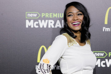 Tatyana Ali McDonald's Premium McWrap Launch Party