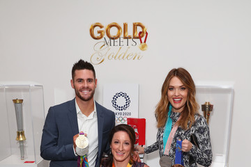 """Tatyana Mcfadden Cassie Sharpe Coca-Cola Presents The 6th Annual """"Gold Meets Golden"""" Brunch, Hosted By Nicole Kidman And Nadia Comaneci"""