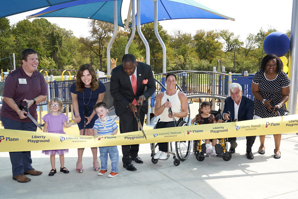 The City Of Plano Unveils New Universally Accessible Playground