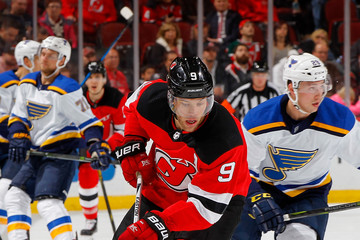 Taylor Hall St Louis Blues v New Jersey Devils