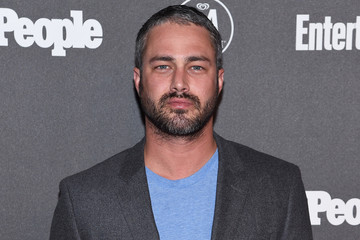 Taylor Kinney Entertainment Weekly & People Upfronts Party 2016 - Arrivals