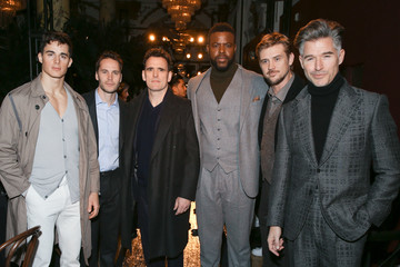 Taylor Kitsch Joseph Abboud - Front Row - February 2018 - New York Fashion Week Mens'