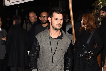 Taylor Lautner W Magazine Celebrates the 'Best Performances' Portfolio and the Golden Globes with Audi and Dom Perignon - Arrivals