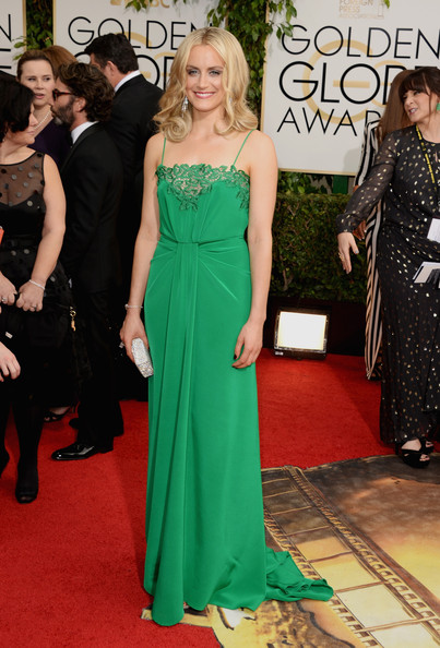 Taylor Schilling - 71st Annual Golden Globe Awards - Arrivals