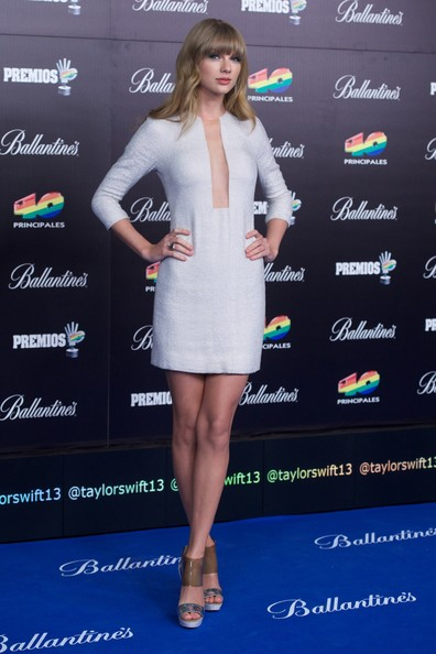 Taylor Swift - '40 Principales Awards' 2012 - Photocall