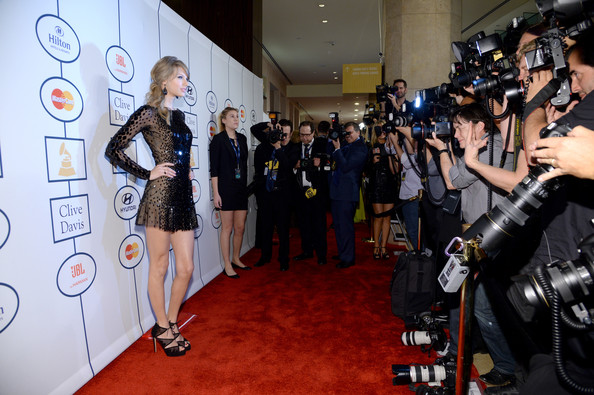 Taylor Swift Recording artist Taylor Swift attends the 56th annual GRAMMY Awards  Pre-GRAMMY Gala and Salute to Industry Icons honoring Lucian Grainge at The Beverly Hilton on January 25, 2014 in Beverly Hills, California.