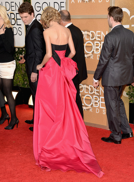 Taylor Swift - 71st Annual Golden Globe Awards - Arrivals