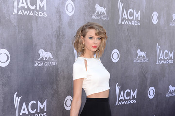 Taylor Swift Arrivals at the Academy of Country Music Awards — Part