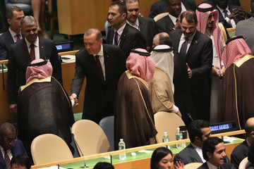 Tayyip Erdogan World Leaders Gather in New York for the Annual United Nations General Assembly