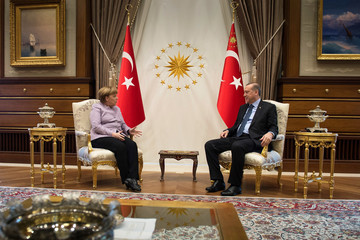 Tayyip Erdogan Spanish Royals Receive President Of Germany Joachim Gauck