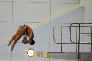 Tom Daley Peter Waterfield Team GB Diving Media Session