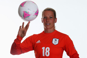 Rachel Brown Team GB Women's Official Olympic Football Team Portraits