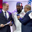 Mr. T and Mike Tirico