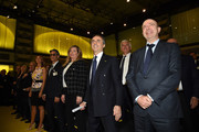 Atmosphere during the Technogym Listing Ceremony at Palazzo Mezzanotte on May 3, 2016 in Milan, Italy. Technogym is the world leader in the construction of equipment for gyms, founded in 1983 by Nerio Alessandri, and was quoted today on the Milan Stock Exchange.