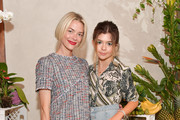 Jaime King and Addison Riecke attend the Ted Baker London SS'19 Launch Event at Elephante on March 20, 2019 in Santa Monica, California.