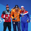 Ted-Jan Bloemen Medal Ceremony - Winter Olympics Day 3