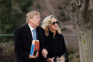 Ted Olson Funeral for Supreme Court Justice Scalia Antonin Scalia Held in Washington, D.C.